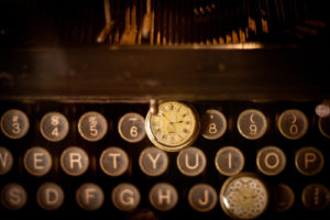 Typewriters with Watch: Time Management for Writers
